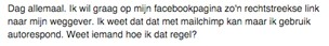 Hoe promoot je de weggever van je klant op hun Facebookpagina?